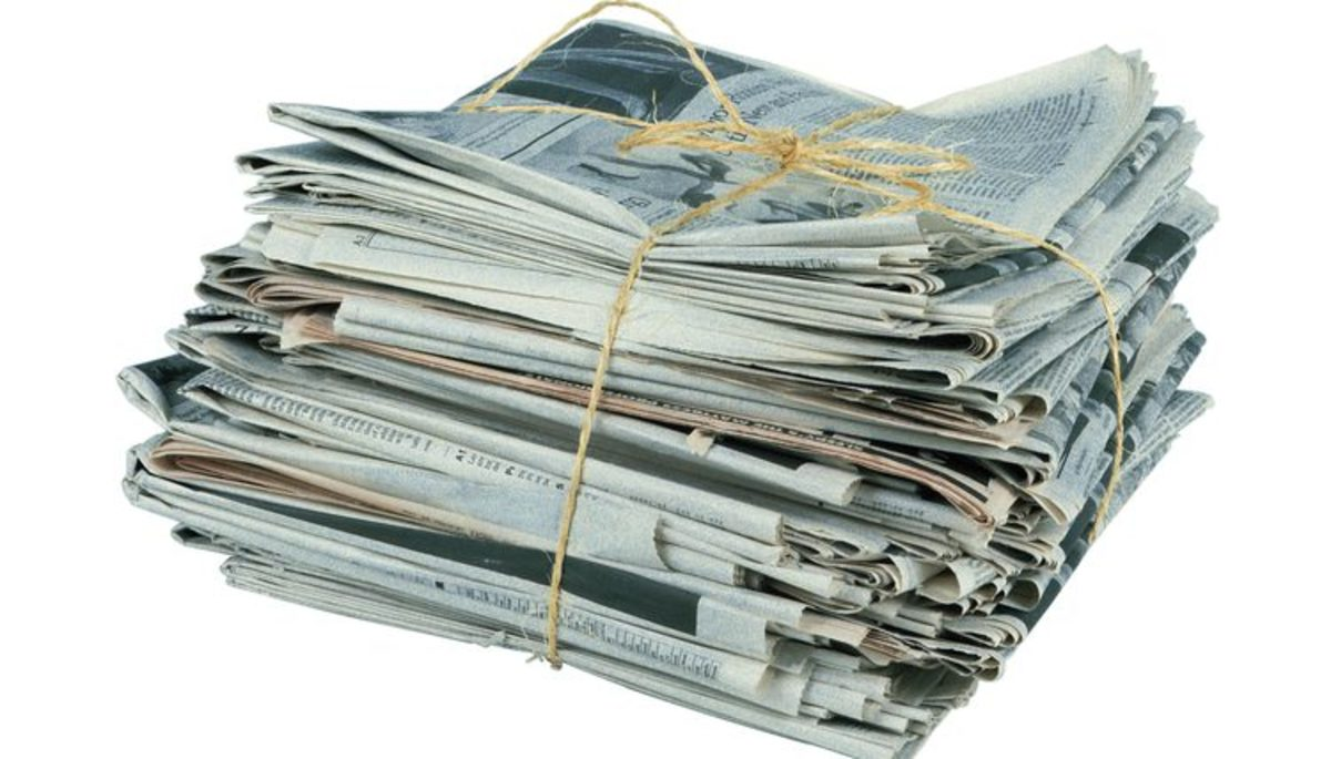 10-ways-to-recycle-old-newspapers