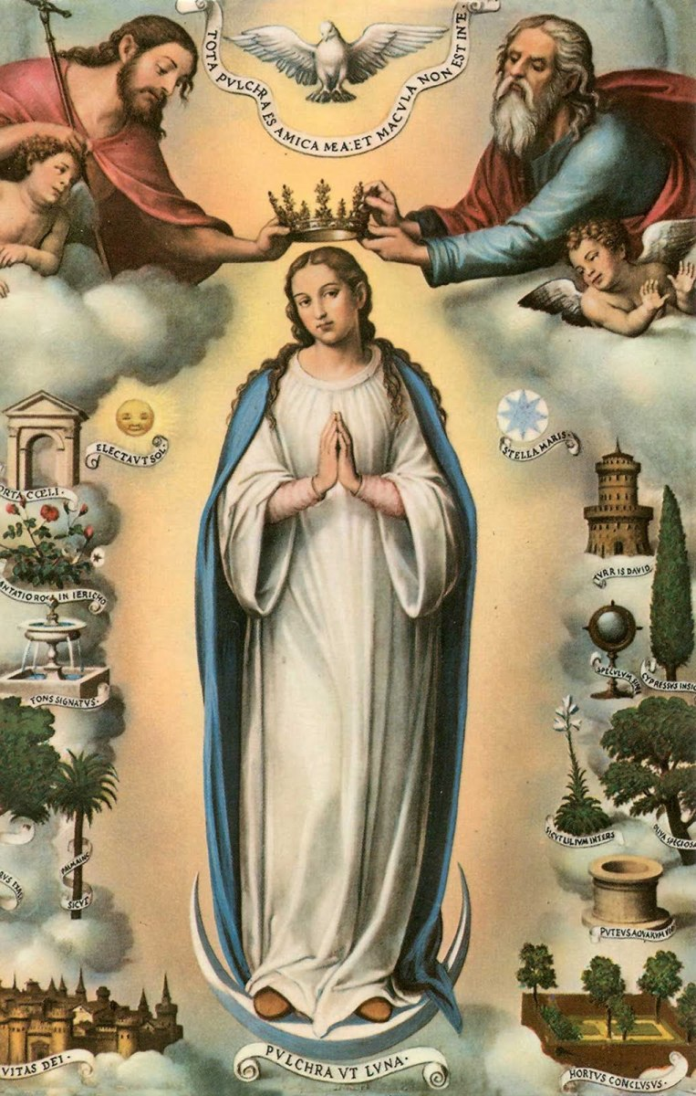 Maria, the Holy Virgin