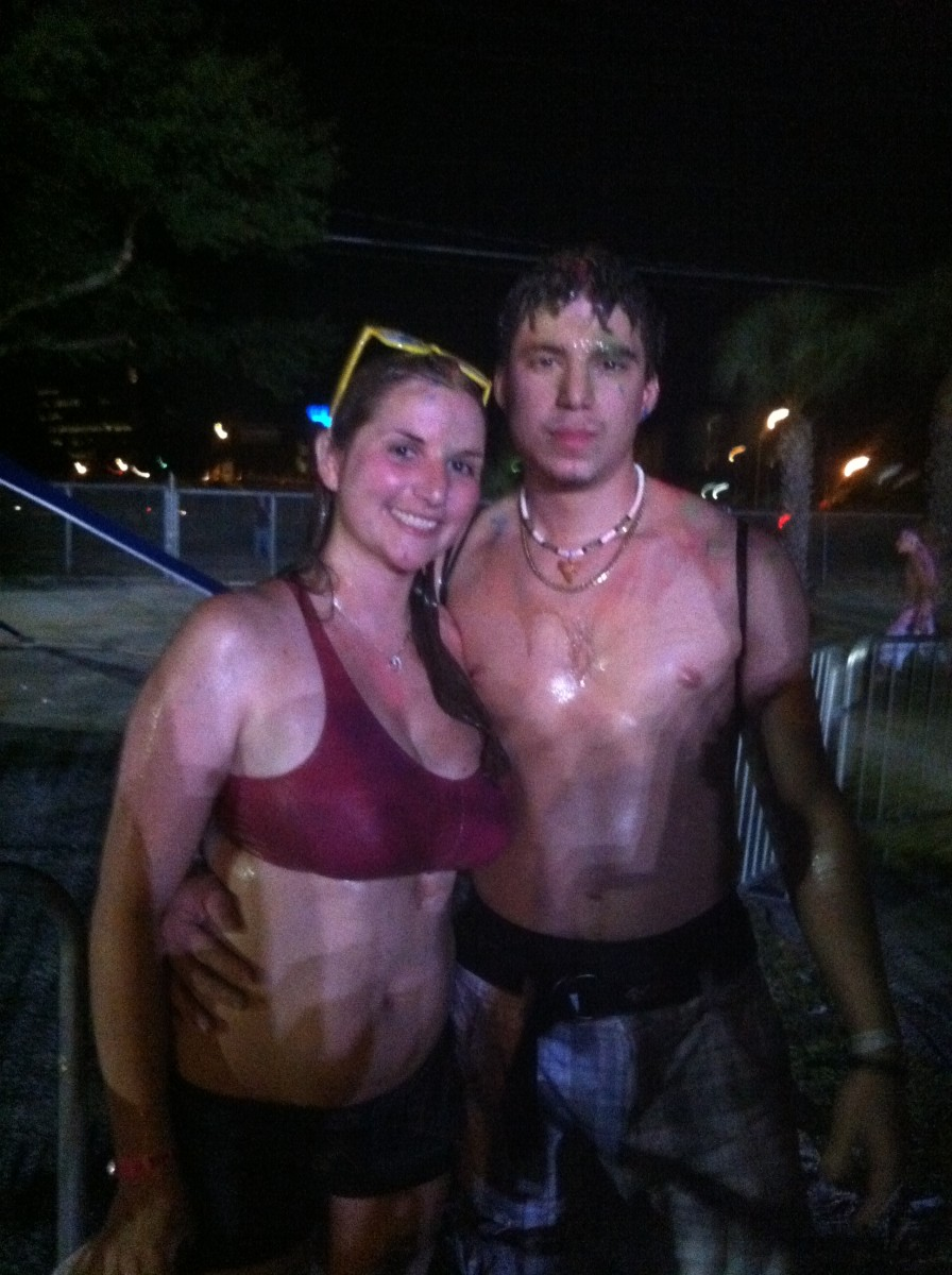 Soaked!