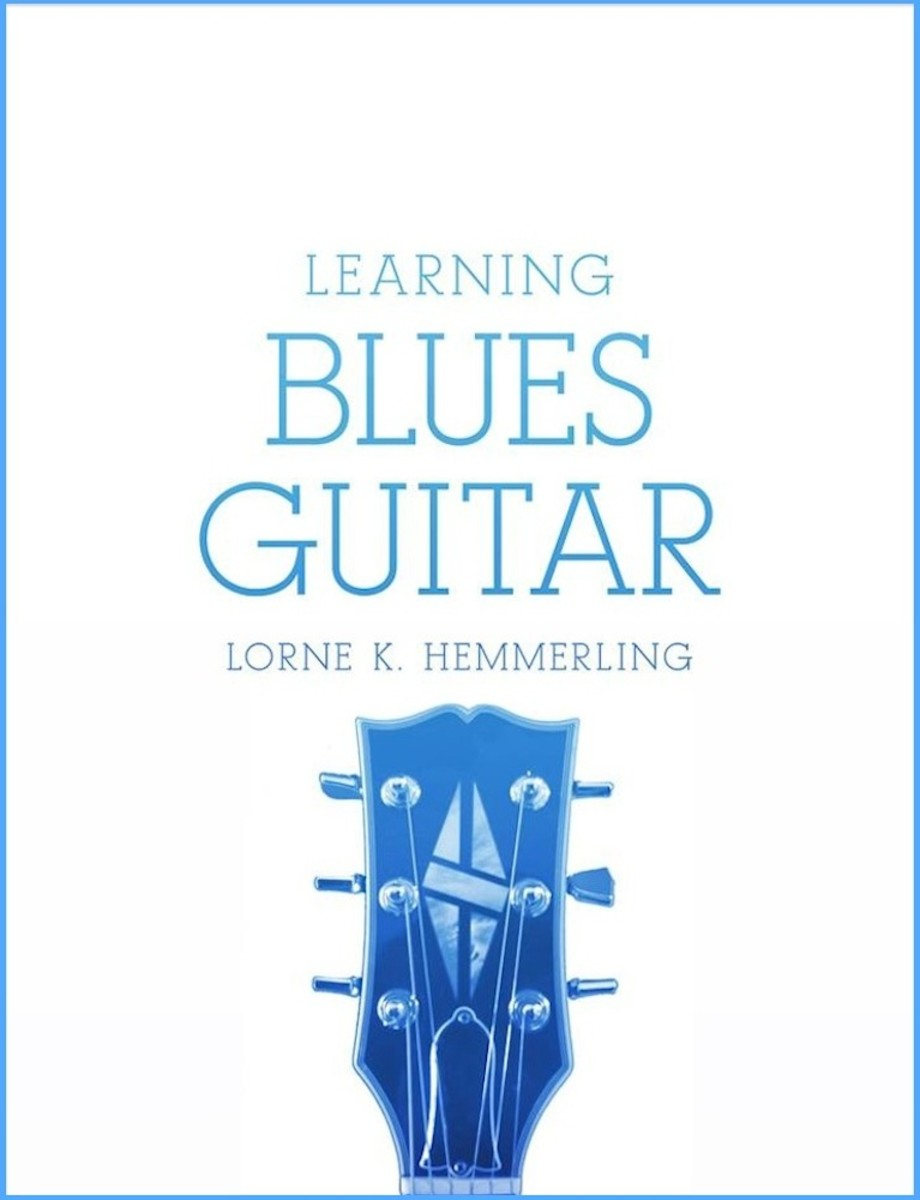Blues Guitar Lessons • Chord Progression And Solo From Learning Blues Guitar Chapter Four • Chords, Solo, Videos