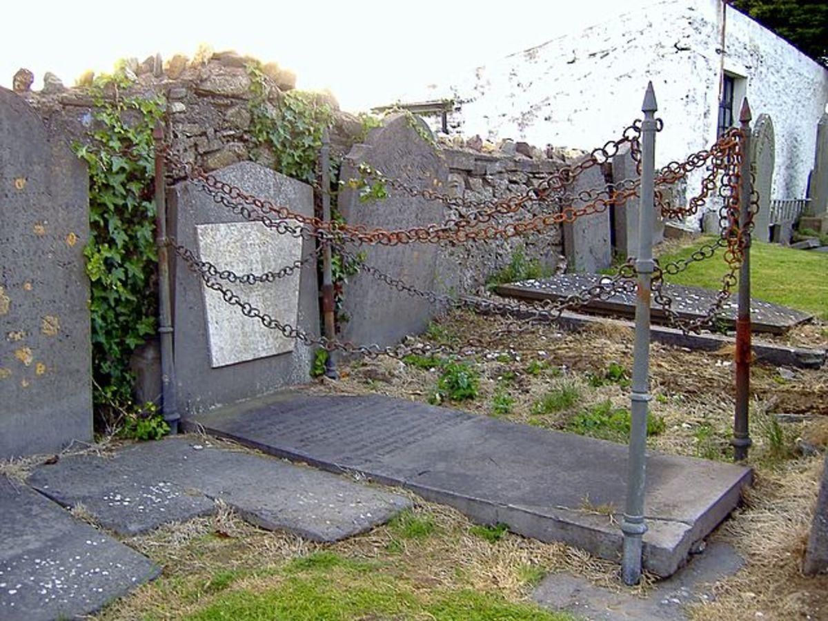 The Vampire's Grave, Malew