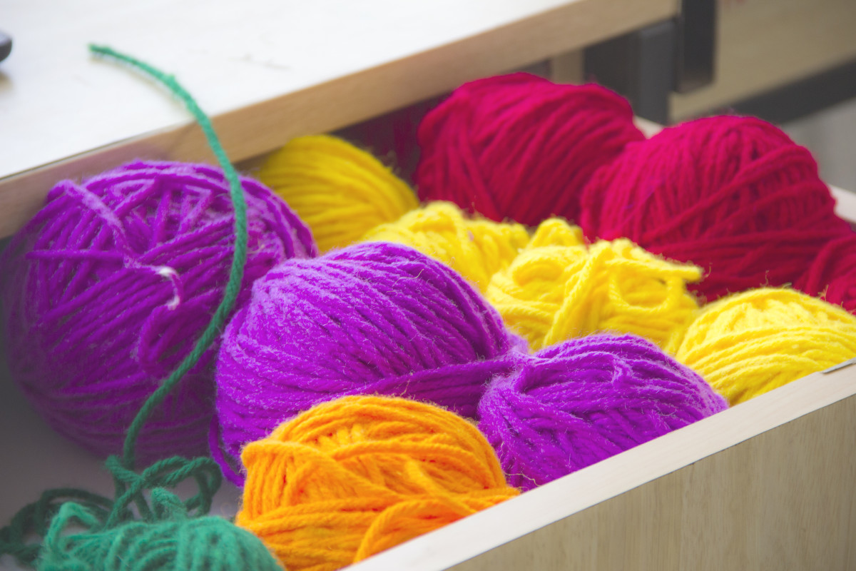 Organize Your Knitting Space