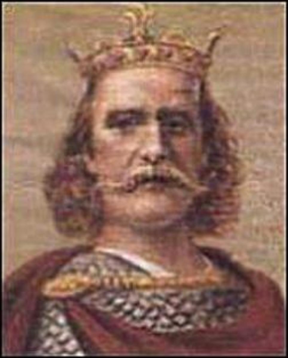 Harold Godwinson, King Harold II of England, was the last Anglo-Saxon king of England.