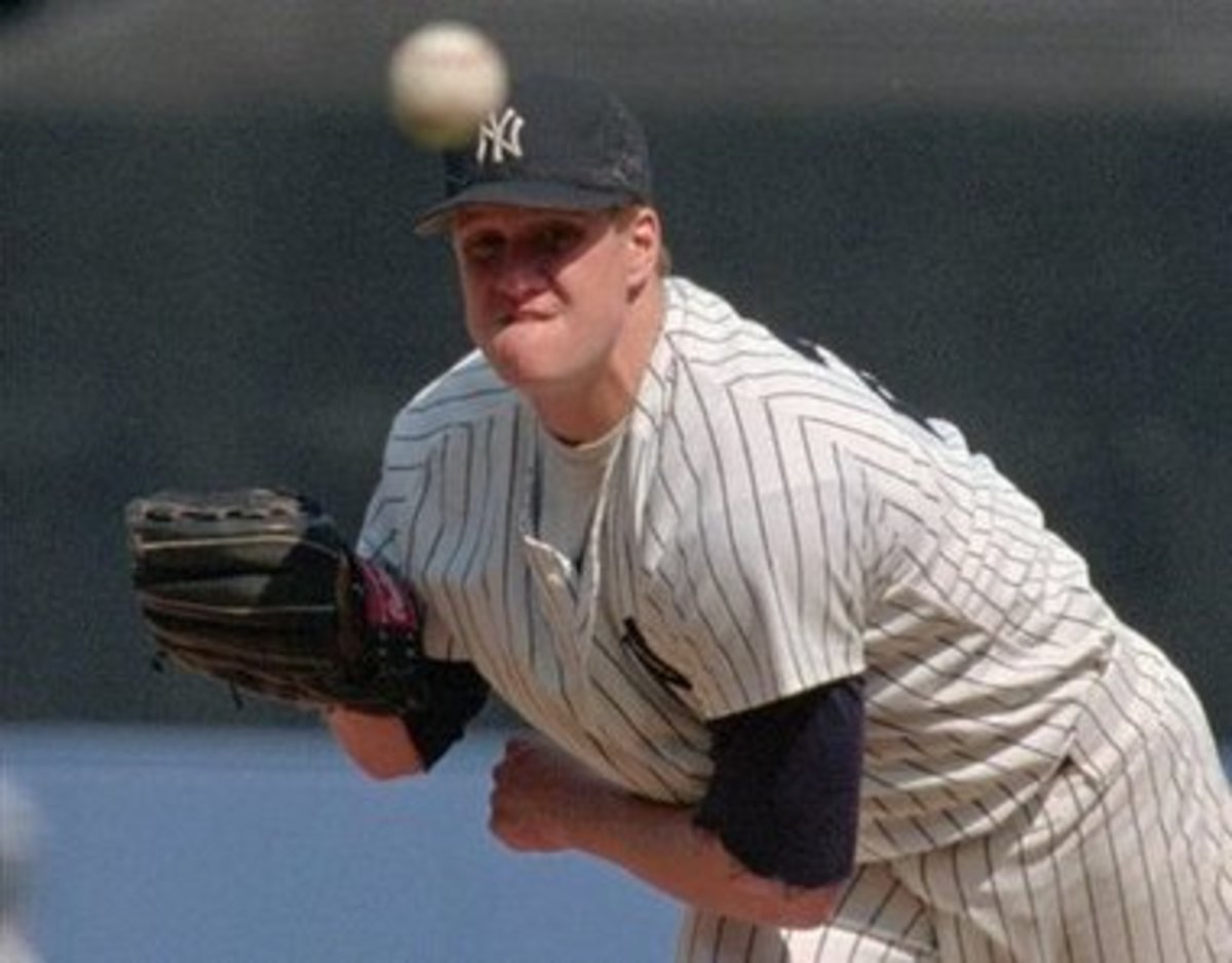 Jim Abbott Pitching