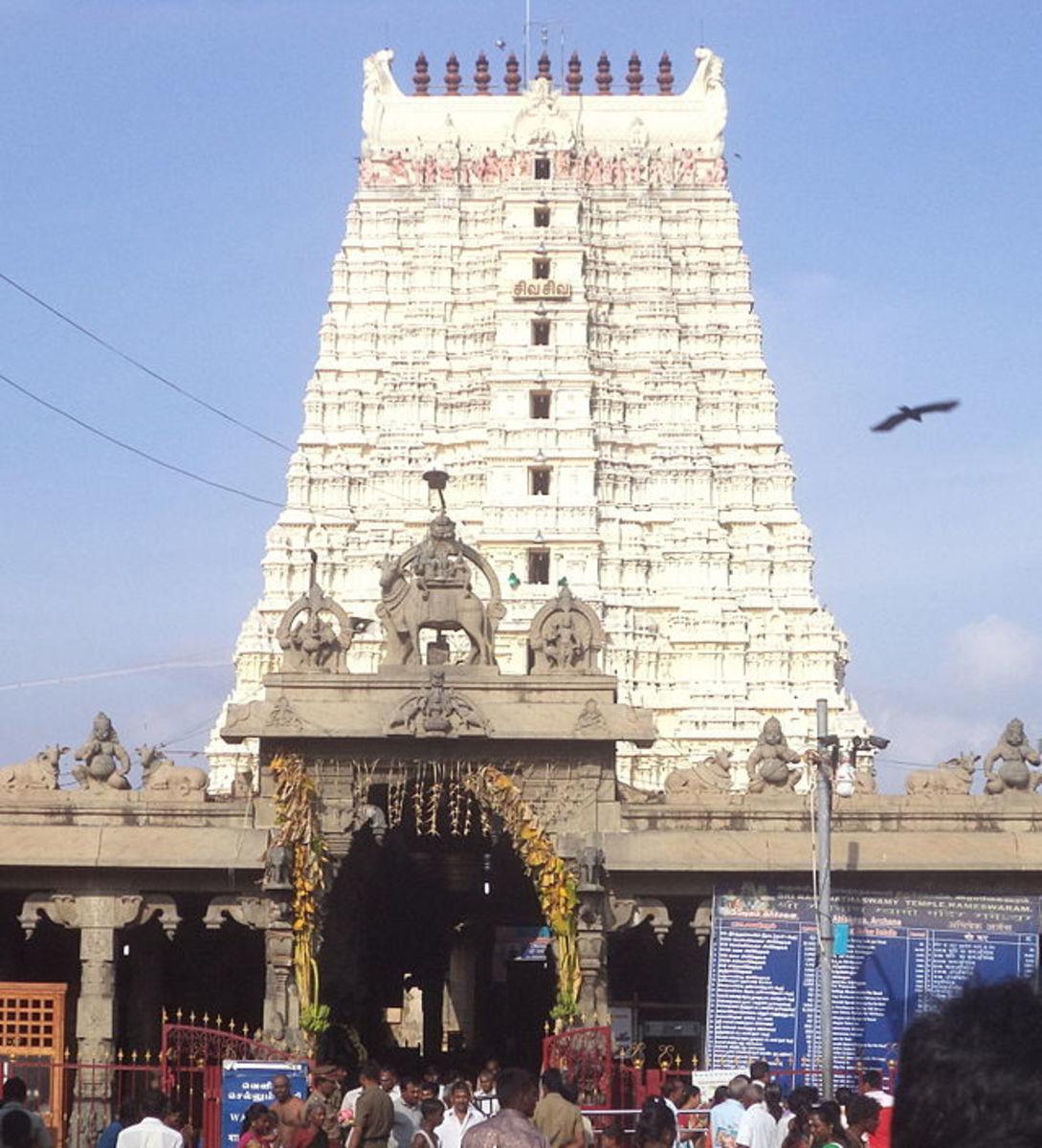 Ramanathar Temple, Rameshwaram, T.N.
