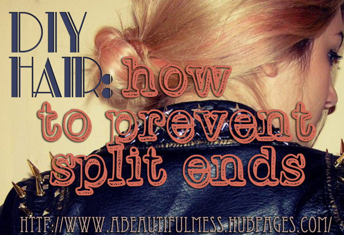 DIY Hair: How to Prevent Split Ends