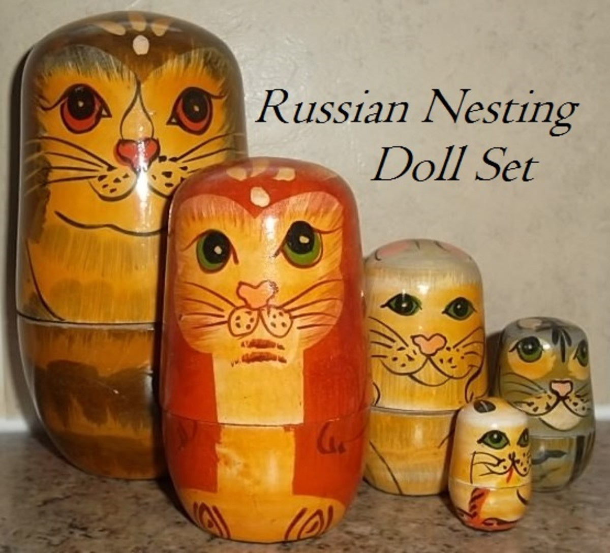 Russian nesting doll or known as Matryoshka doll or, Babushka doll