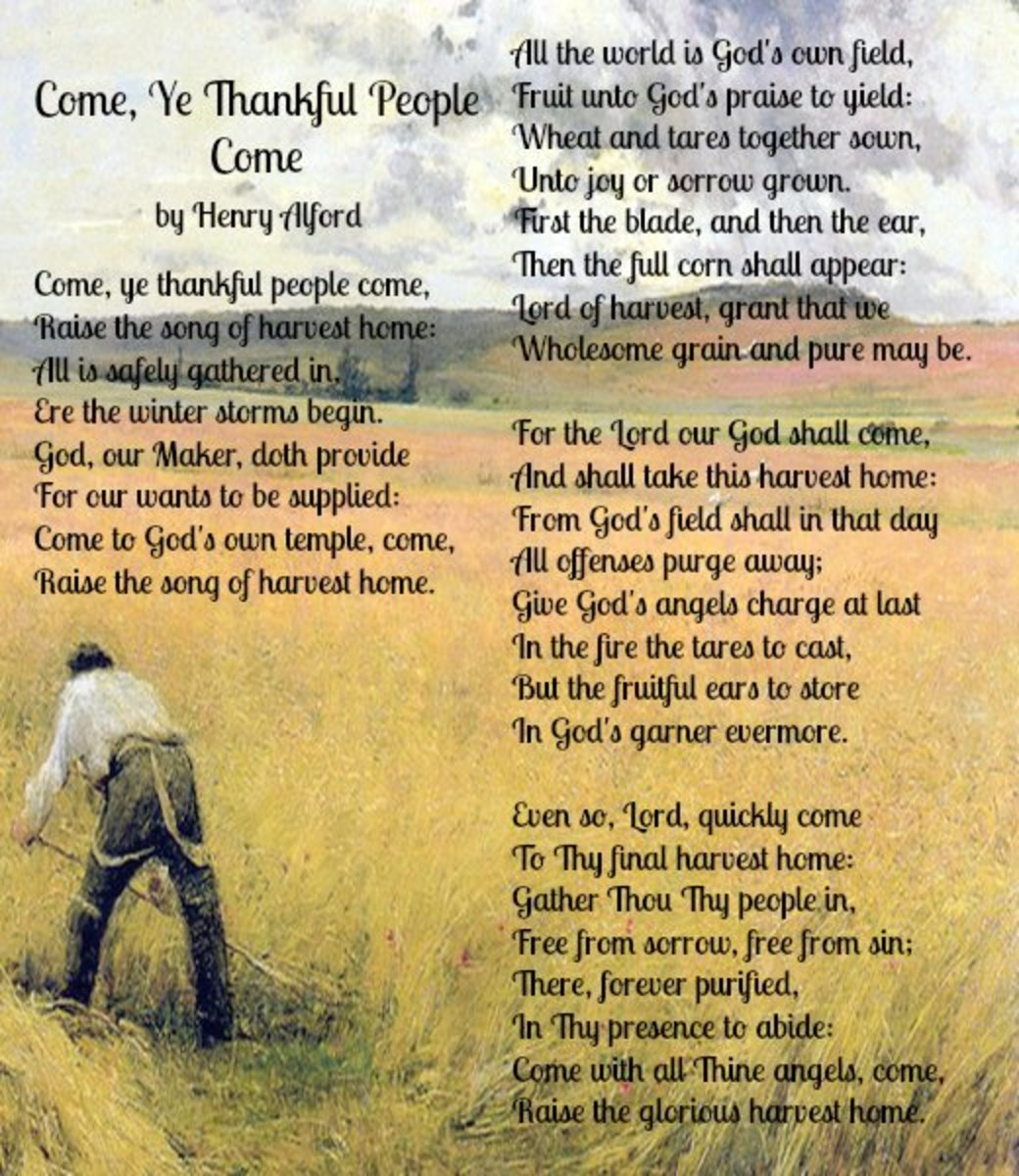 'Come, Ye Thankful People, Come' Poem by Henry Alford