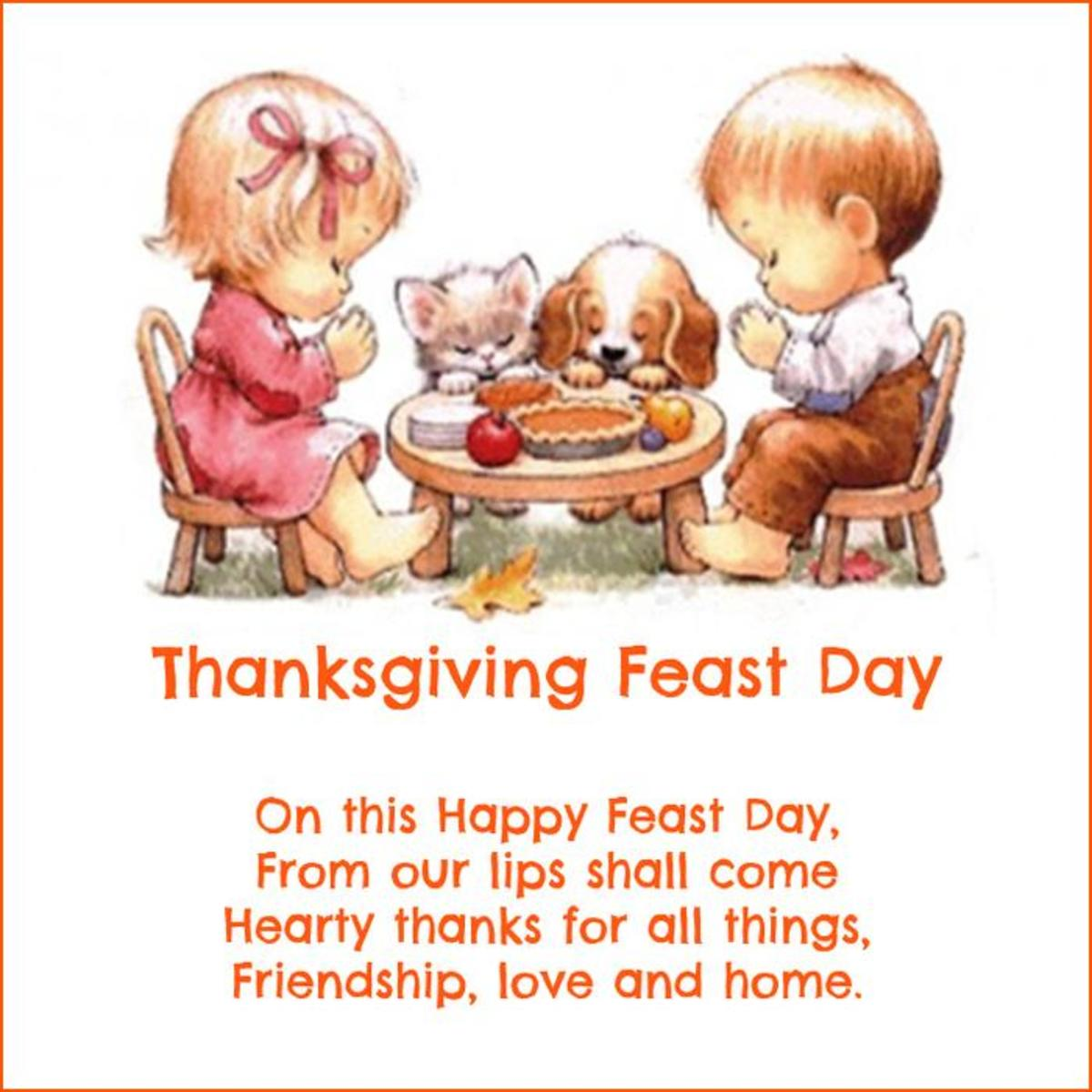 A Thanksgiving Feast Day Poem