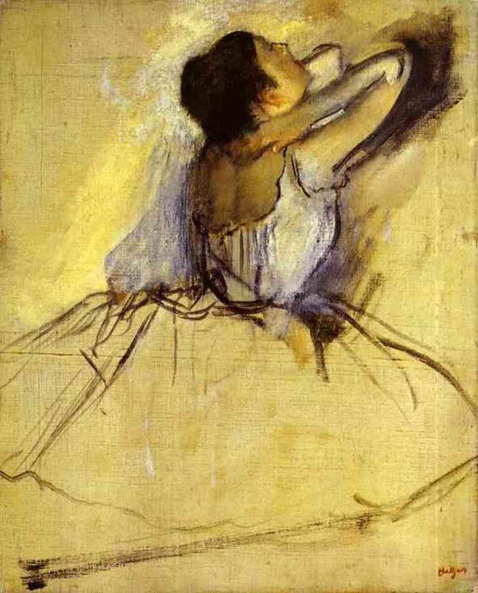 Edgar Degas, Danseuse (1874)