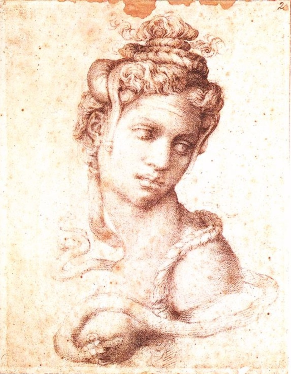 Michelangelo, Cleopatra (a. 1533), Florence Casa Buonarroti