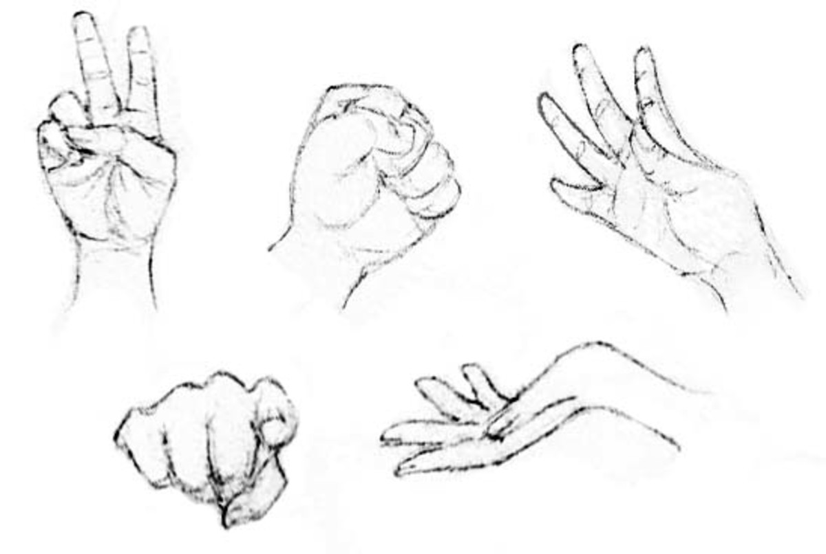drawing the human figure the hands hubpages