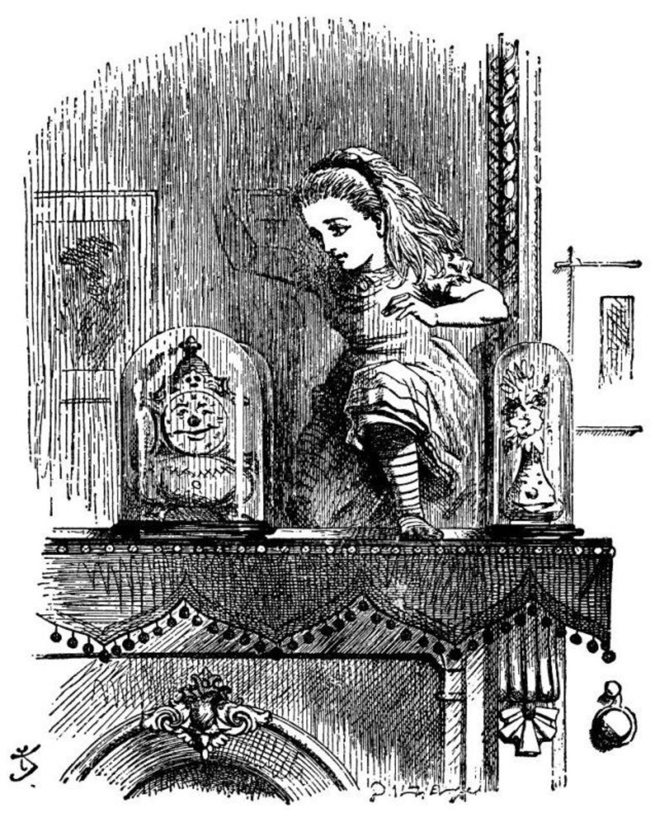 Through the Looking-Glass, Sir John Tenniel