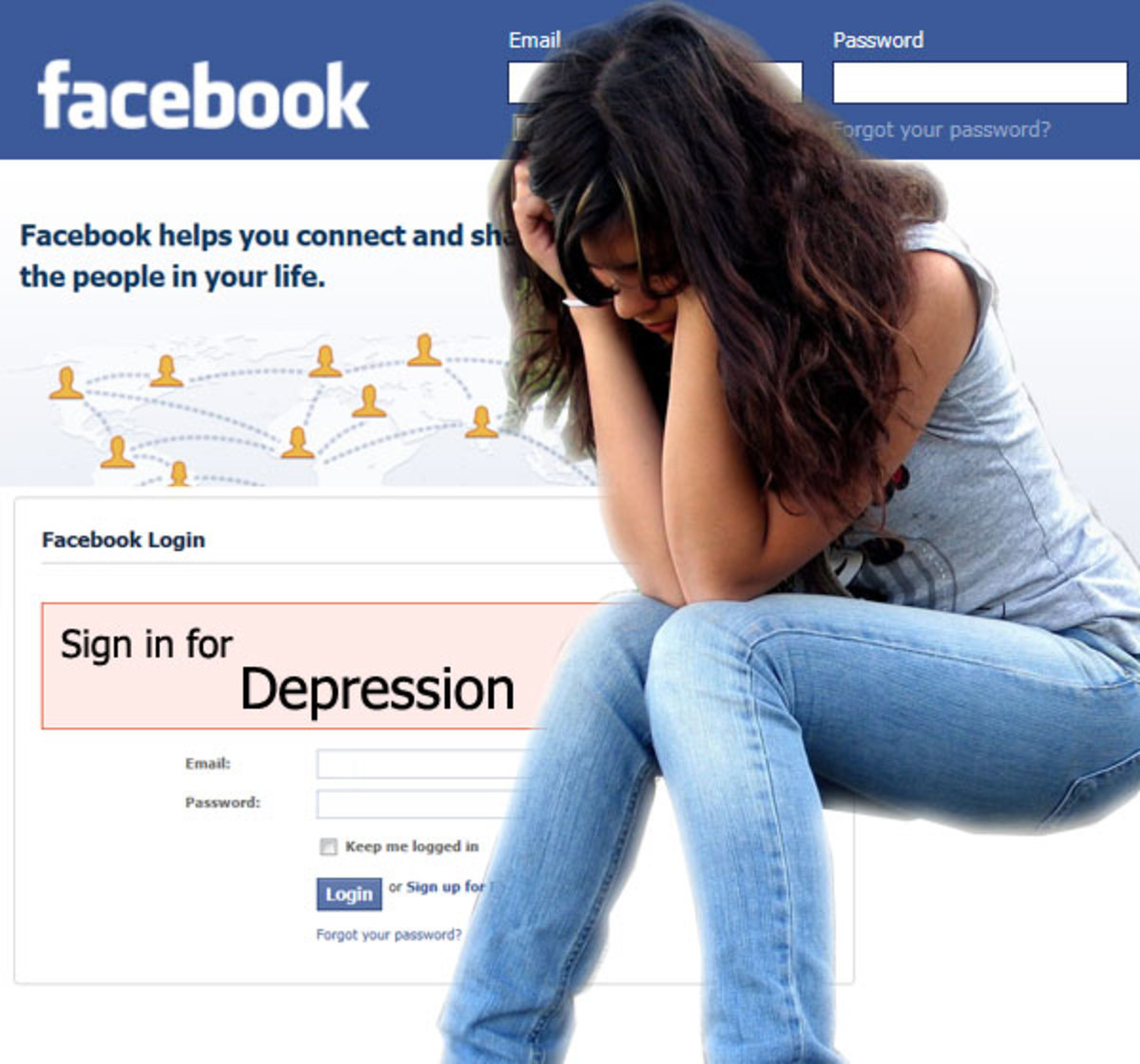 Use of social media has increased depression amoungst the young and the teenages