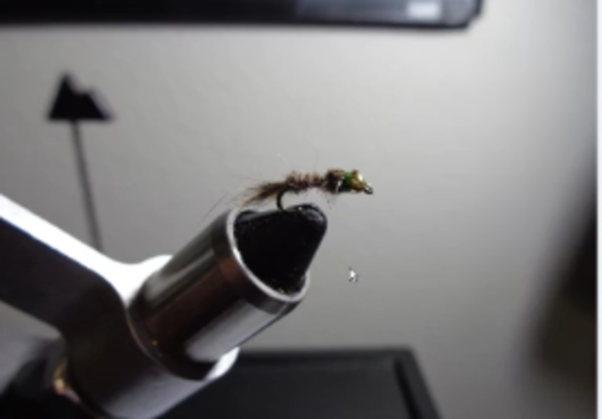 Three Suggested Fishing Flies for Rainbow Trout