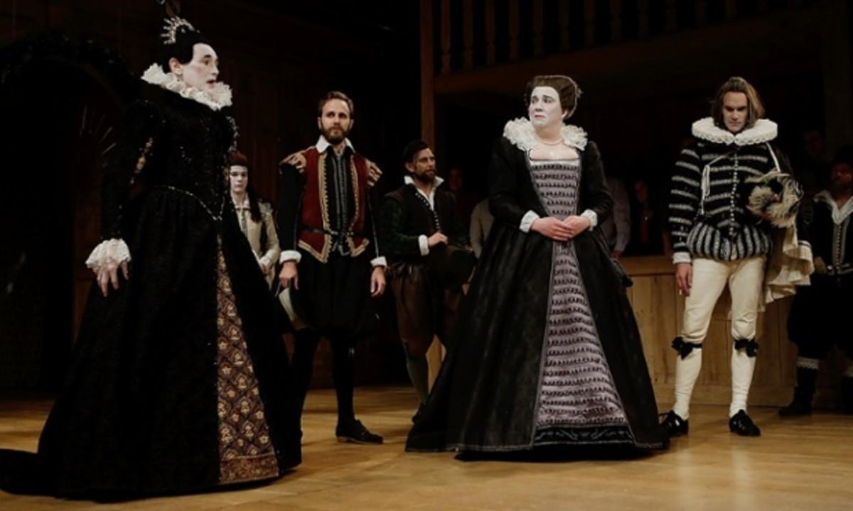 A Scene from Shakespearean Comedy