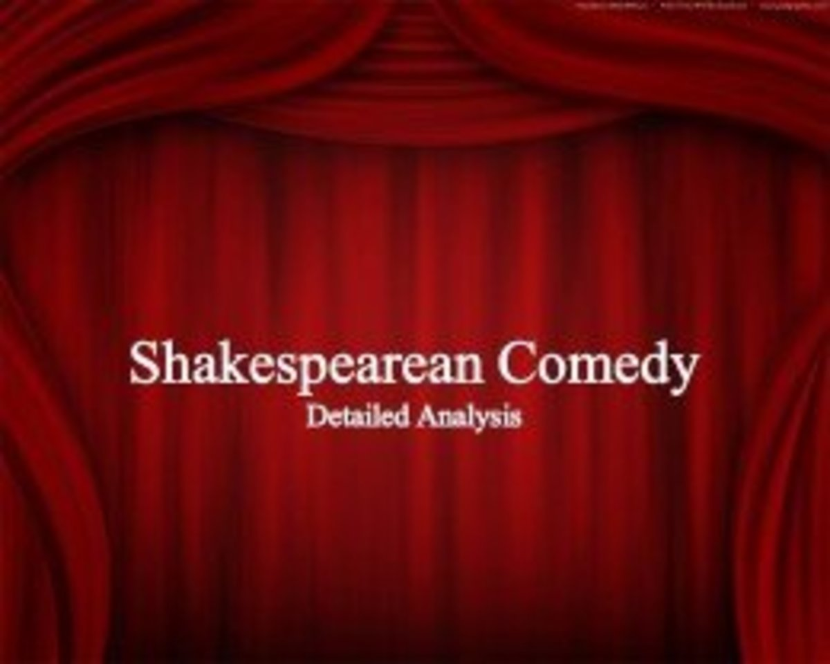 Characteristics of a Shakespearean Comedy