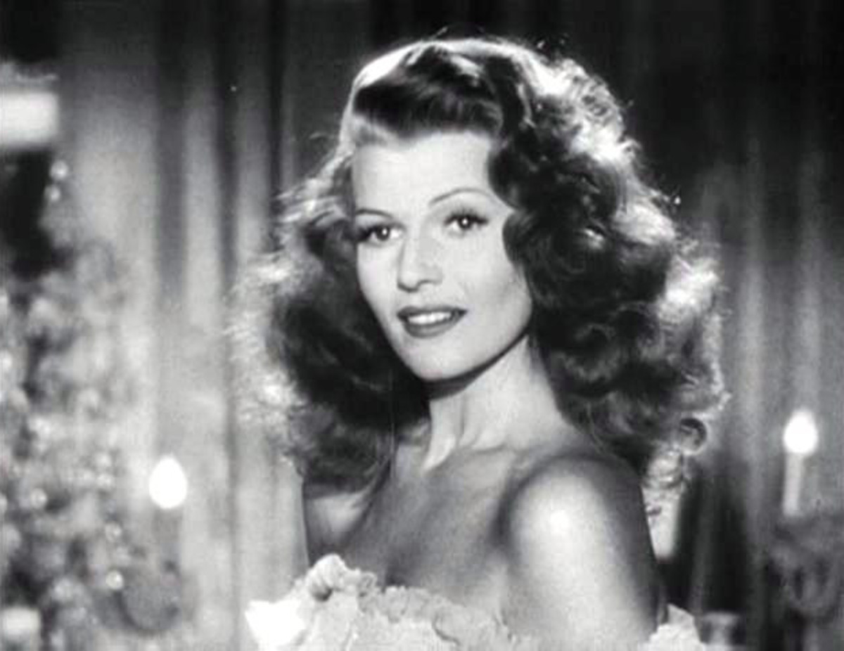 "The hairstyle Rita wore in ""Gilda"" is the one she is best known for."
