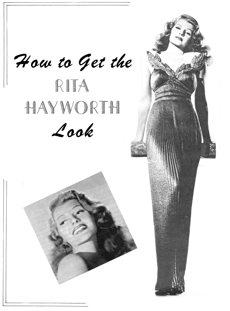 How to Get the Rita Hayworth Look: Vintage Hollywood Glamour
