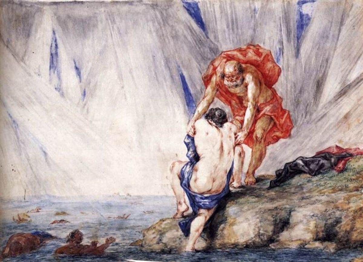 Pyrrha Greek Mythology