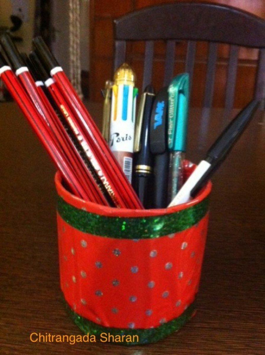 Multipurpose pen/ pencil holders