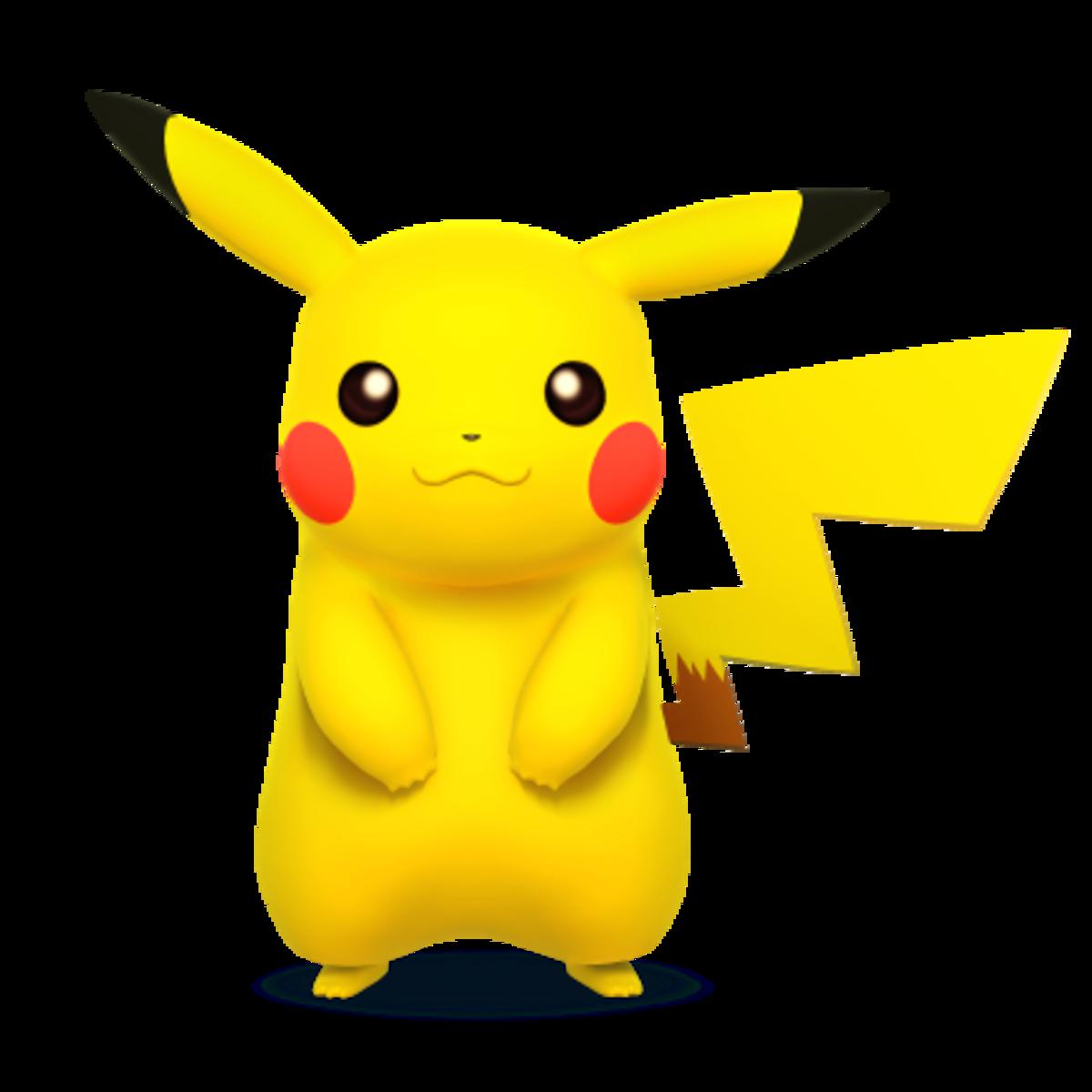 Electric Mouse Pokemon