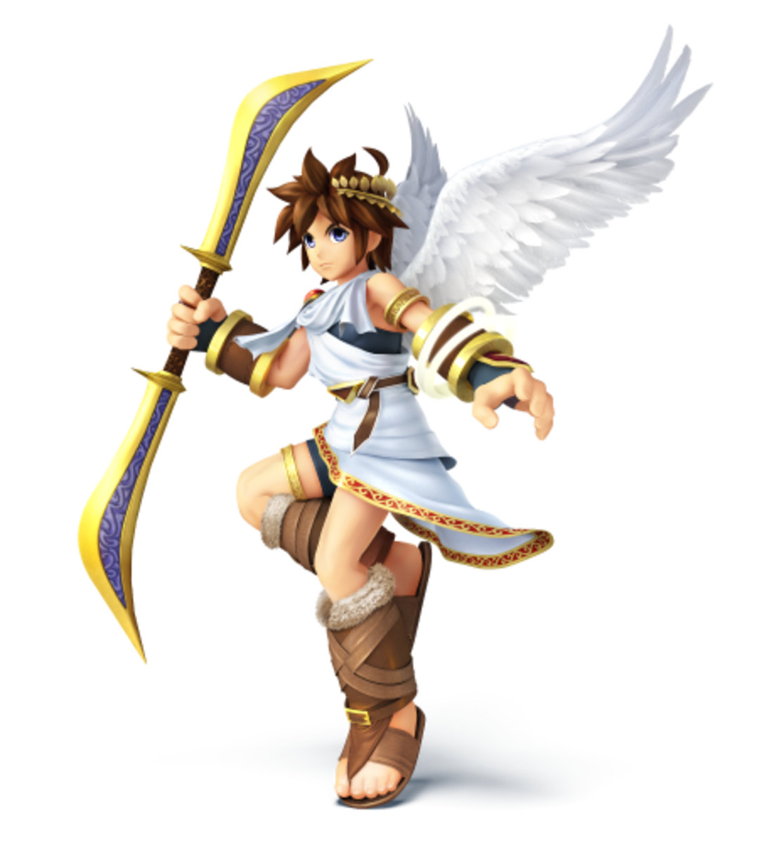 Angelic Captain of Palutena's Guard