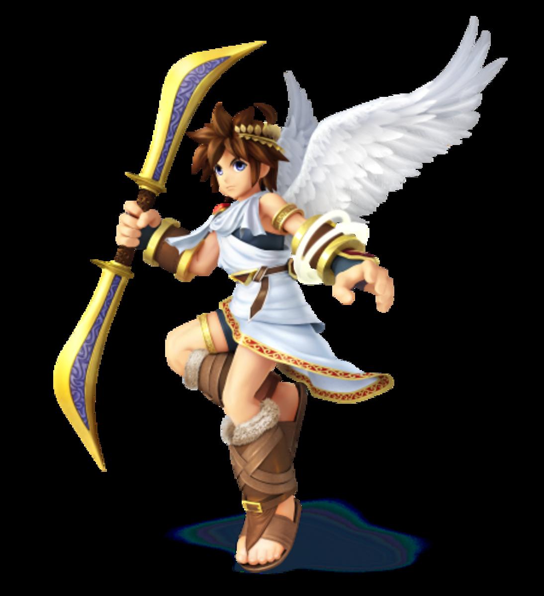 Angelic Captain of Palutena's Guard