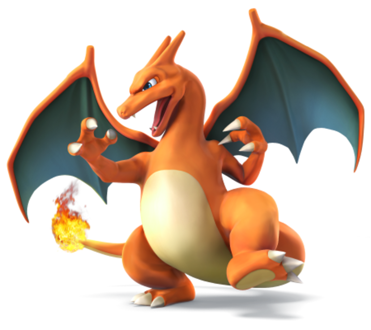Pseudo-dragon Flame Pokemon