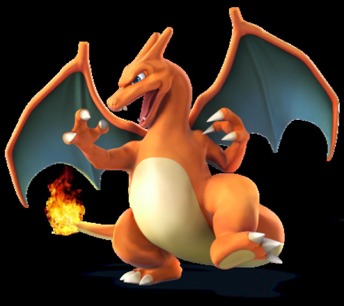 Pseudo-dragon Flame Pokemon