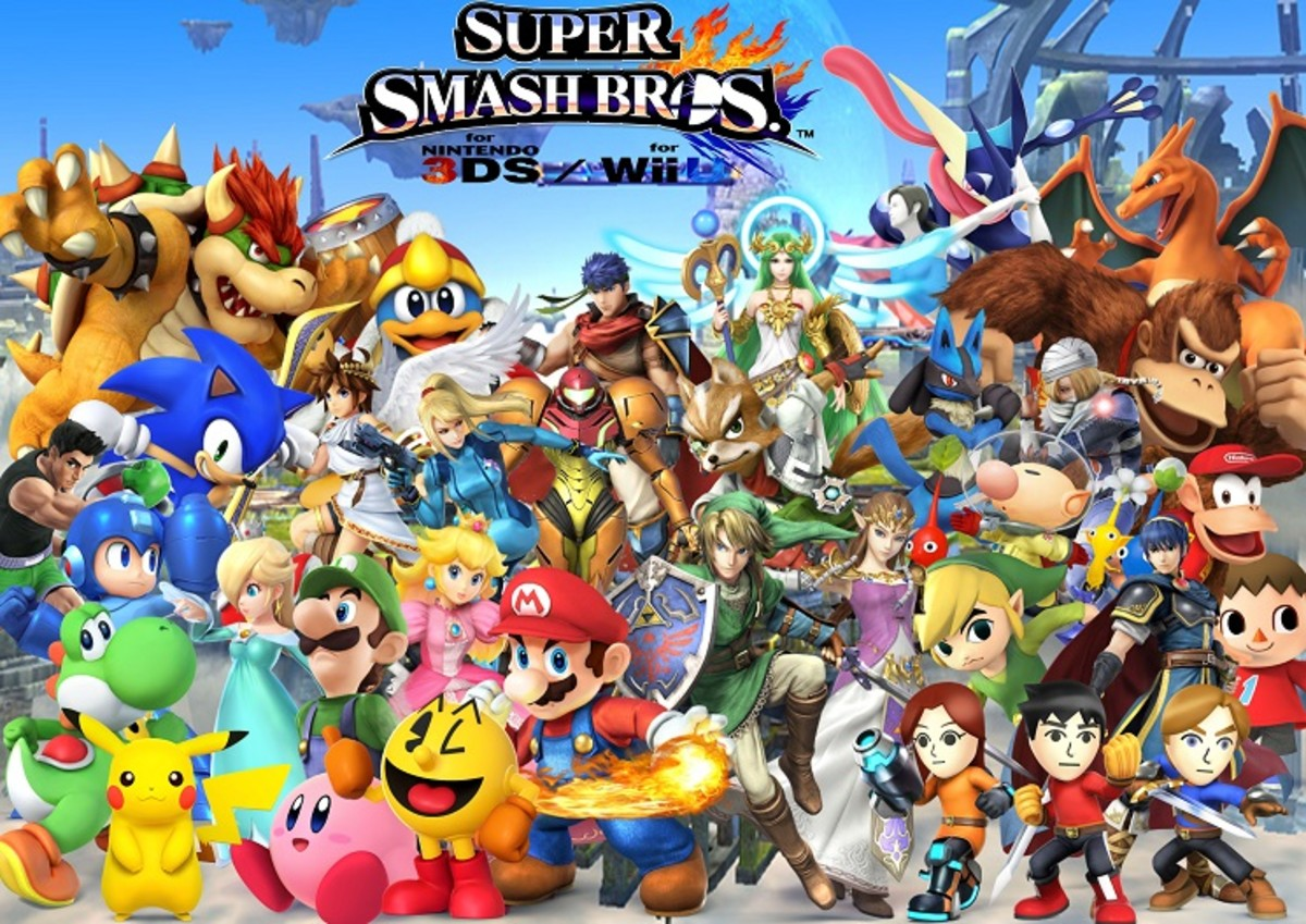 Super Smash Bros. for Wii U and 3DS