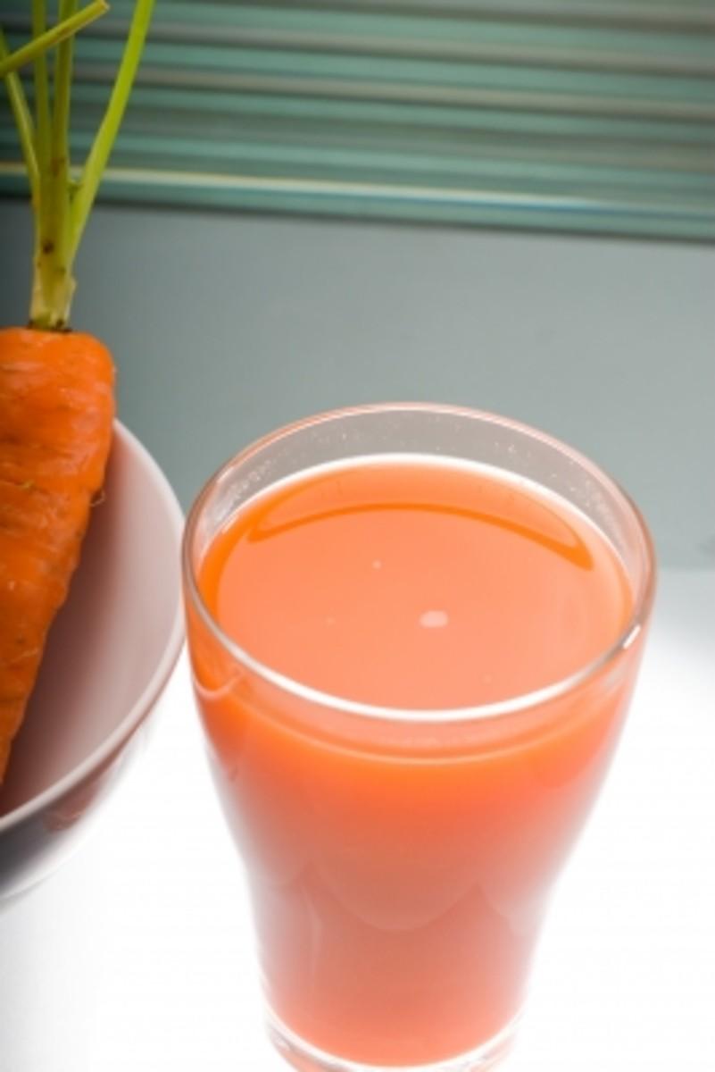 Fresh Carrot-Apple Juice