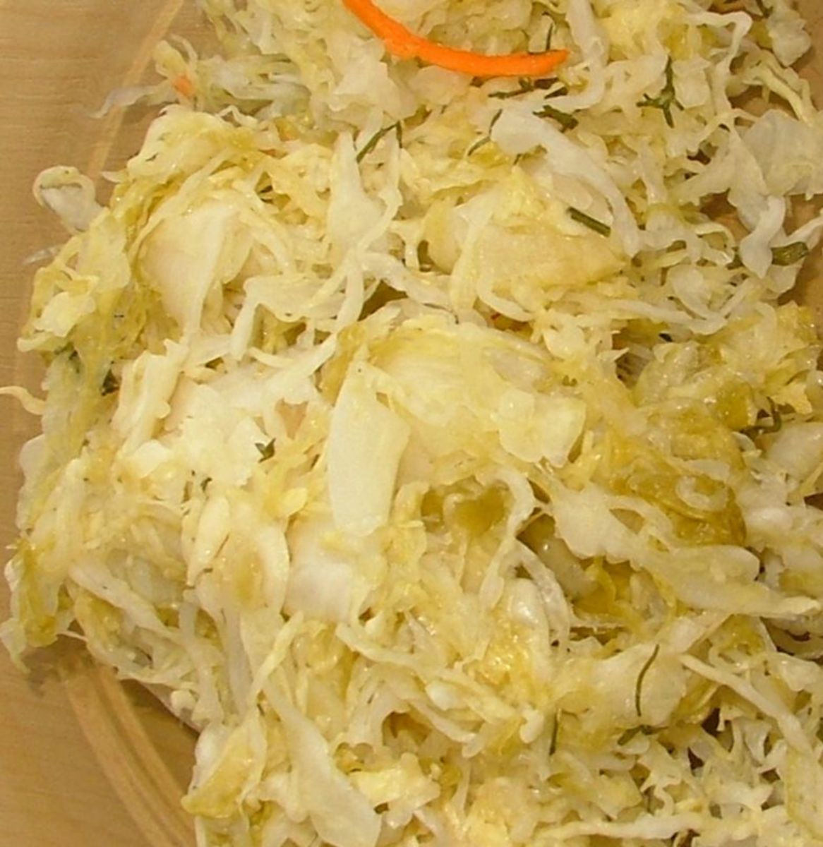 apple sauerkraut