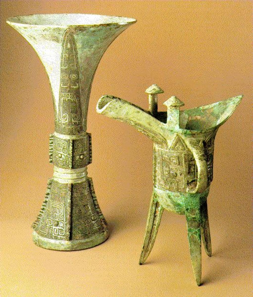 Anyang artifacts Shang dynasty