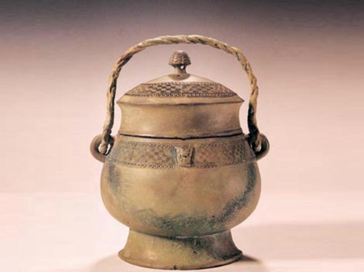 Bronze Wine Vessel,Shang