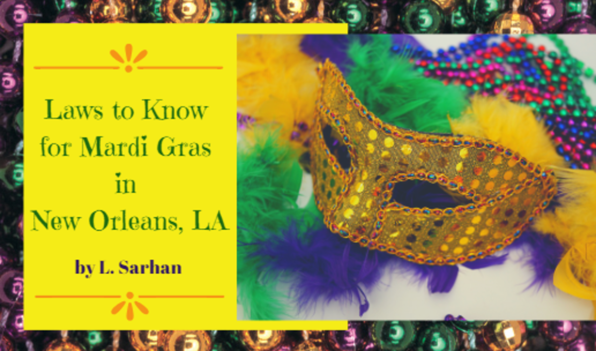 Laws to Know for Mardi Gras in New Orleans, LA