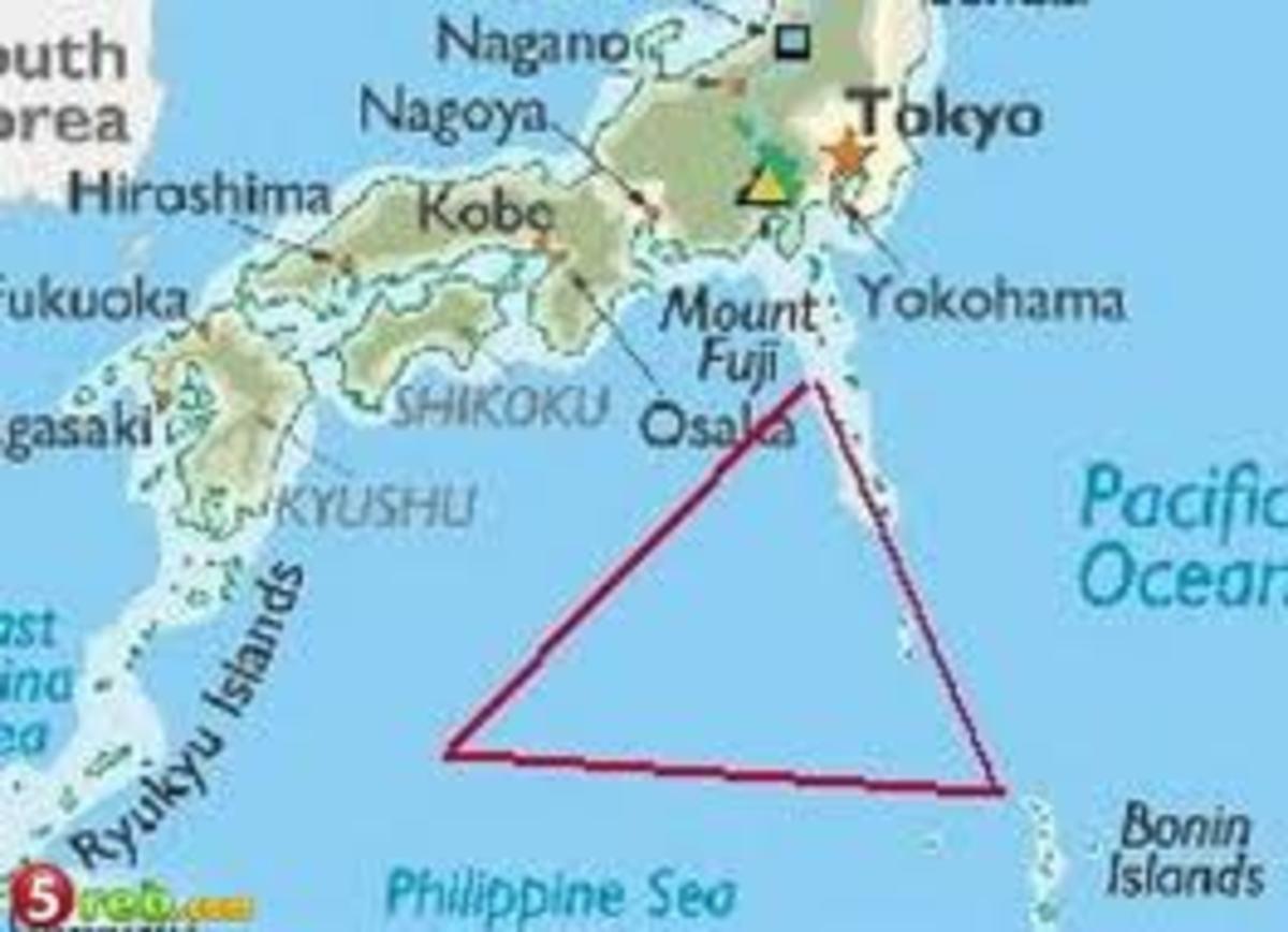 The Dragon's Triangle – Bermuda Triangle of the Pacific