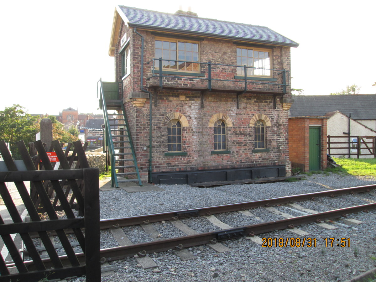 A bit bigger - this is Bedale's signal cabin (on the Wensleydale railway), a North Eastern Railway Central Division structure - later Southern Division when the regional administration structure changed