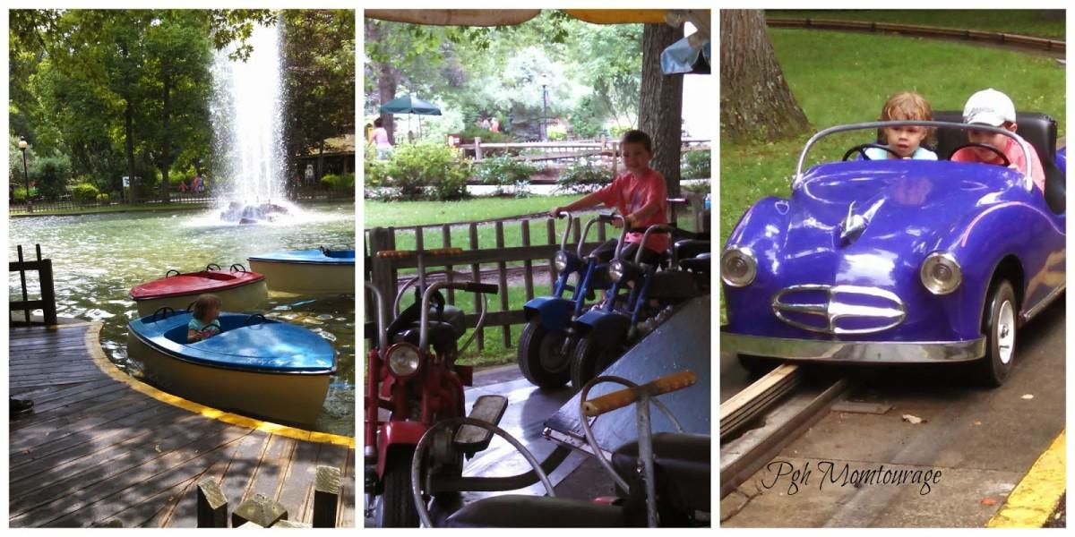 Rides at Raccoon Lagoon