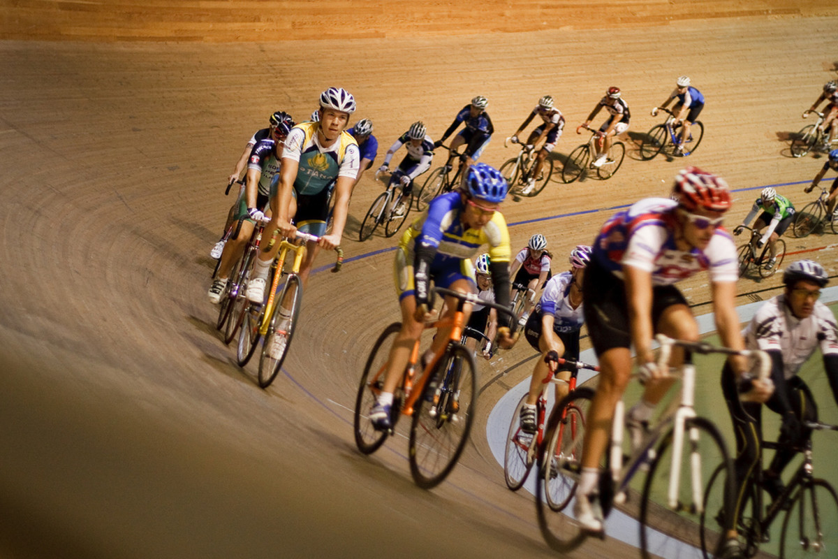 Track cycling is a great experience that will really enhance your riding skills