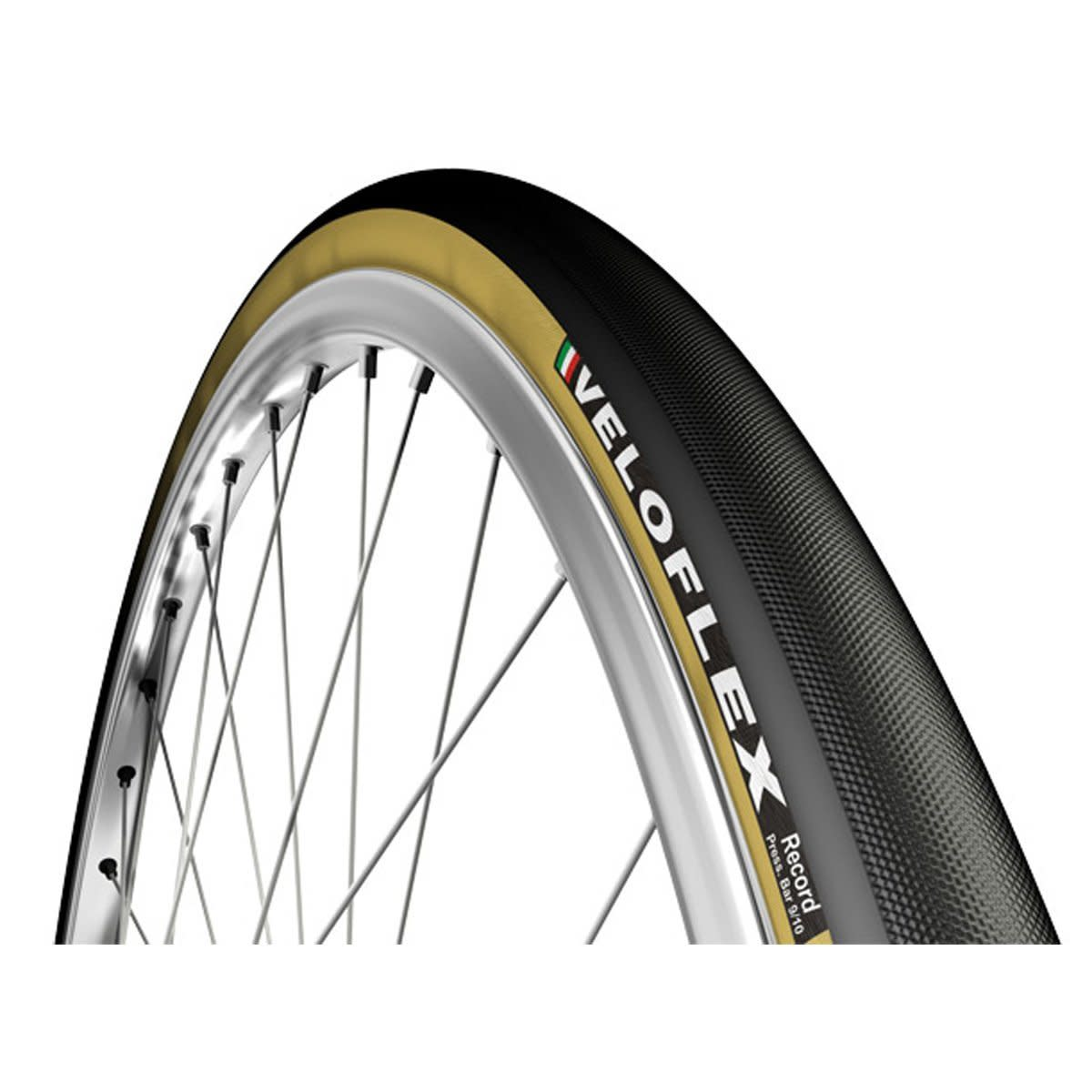The Veloflex Record offers track riders a heady combination of speed and impeccable handling on the boards