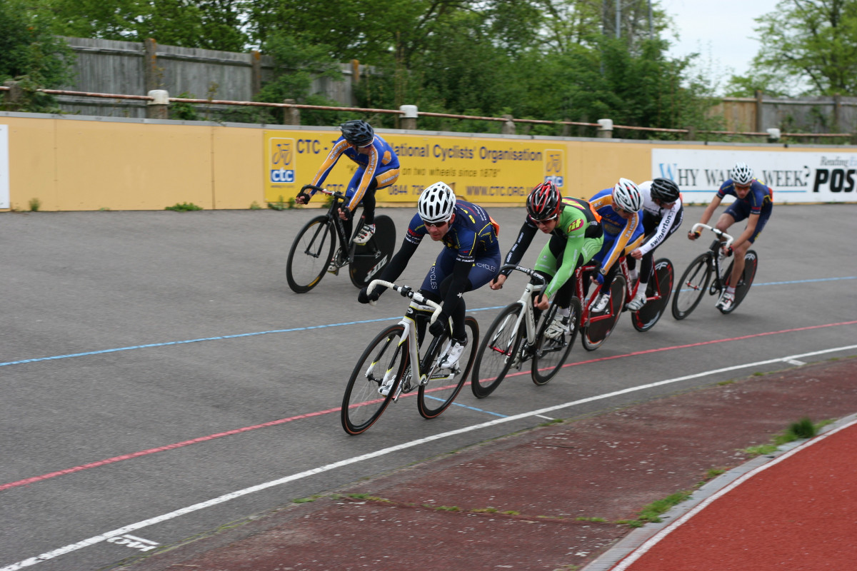 Track cycling is not all about wooden boards and indoor velodromes