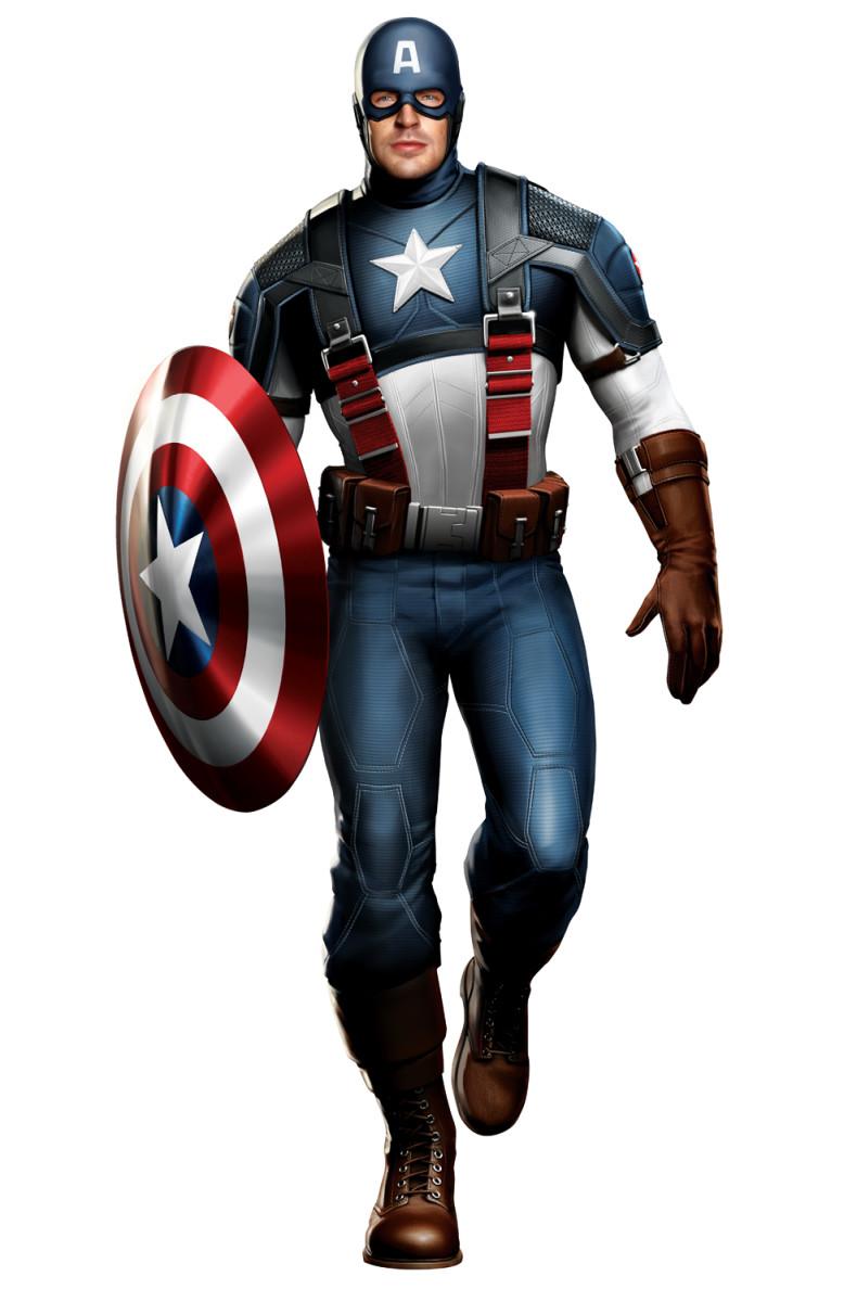 Superhero Characters: Captain America (Steve Rogers)