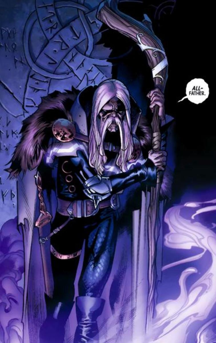 Cul Borson aka the Serpent (Asgardian God of Fear)
