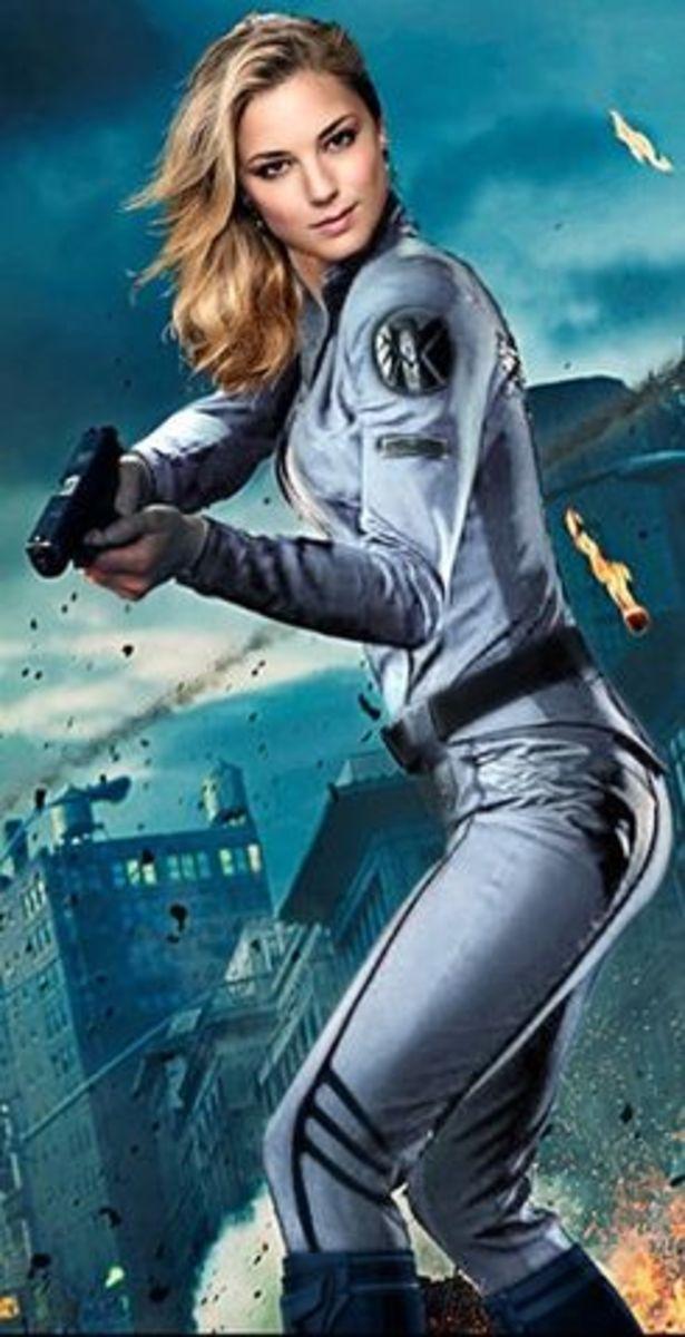 Agent Sharon Carter aka Agent 13
