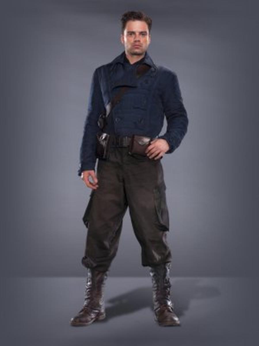 Bucky Barnes as the Sidekick