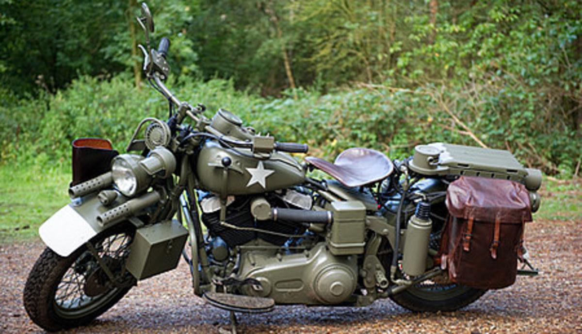 Captain Americas Harley Davidson
