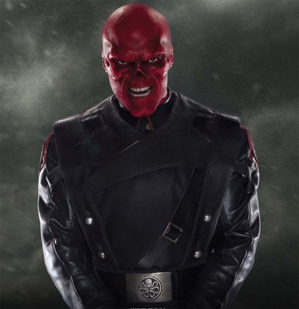 Red Skull as portrayed by Hugo Weaving in the movie Captain America: The First Avenger