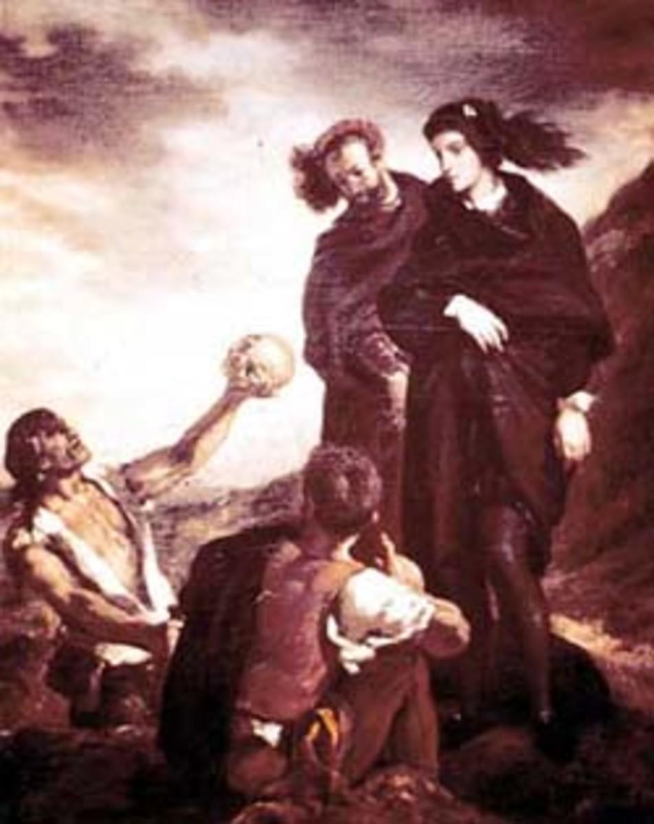 Gravedigger Scene in Hamlet