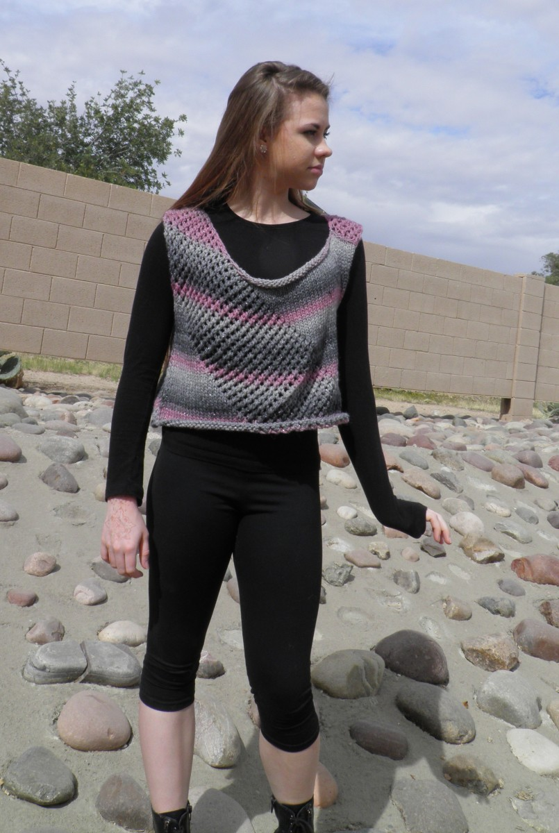 Knitted Vest - Free Pattern